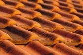 крыша с плиткой