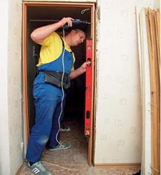 установка дверей и ремонт дома