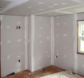 Выравниваем стены с помощью гипсокартона