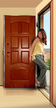 Преимущества металлических дверей