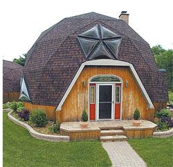 Купольные дома из бруса
