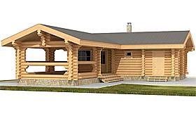 Крыша бани, покрытая рубероидом