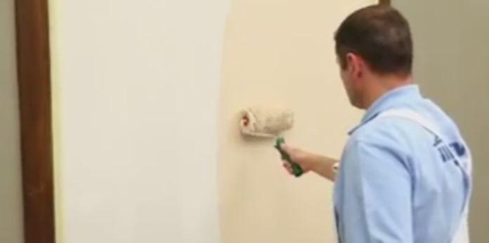 нанесение на стену