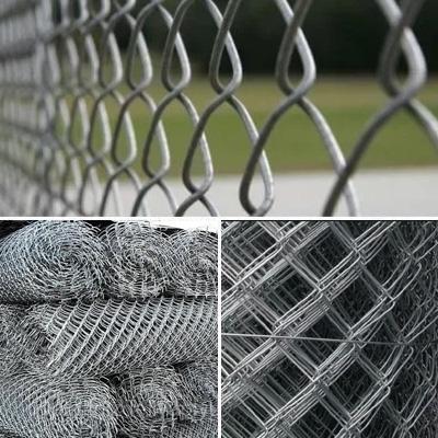 Сетка плетеная металлическая черная и оцинкованная (рабица)